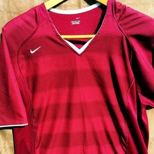 Nike Jersey Red/Burgundy Men's XL